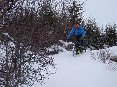 VAE dans la neige